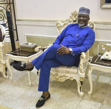 I am like the scrotum of a ram,it will dangle and dangle but will never fall- Dino Melaye