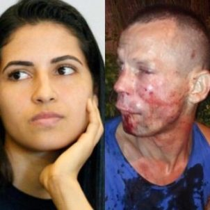 Wrong move: Robber severely beaten by female martial arts fighter