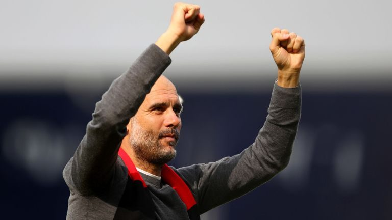 'We don't have a Messi or a Ronaldo' – Pep Guardiola hails Manchester City players for their team spirit after extending lead at top of EPL table