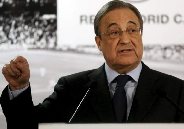 Real Madrid president, Florentino Perez tests positive for COVID-19