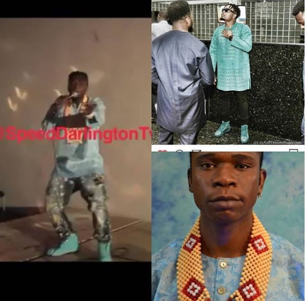 Speed Darlington calls out Olamide for 'stealing' his fashion style
