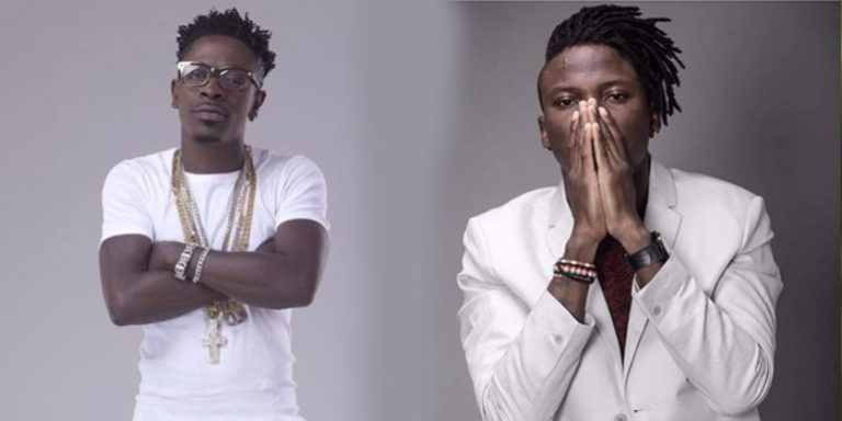 Shatta Wale and Stonebwoy ironed out their differences as they meet for harmony talks after open fight at Ghana music awards (Photo)