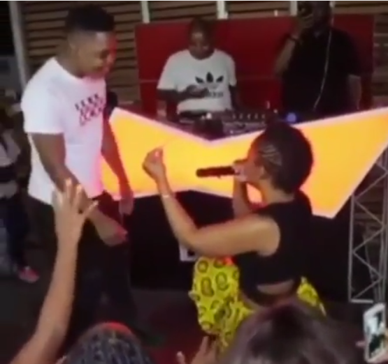 South African pantless dancer, Zodwa Wabantu stormed the red carpet of an event (Photos)