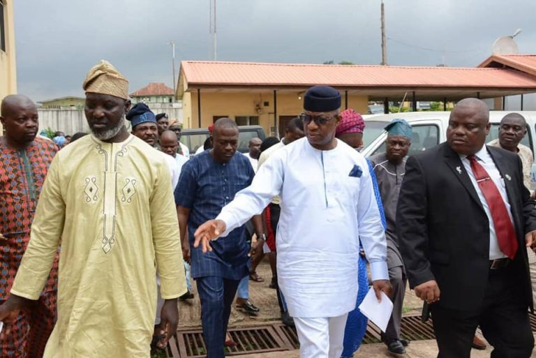 Ogun Gov Disappointed Over 'Deplorable' State Of Teaching Hospital [Photos]