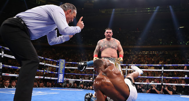 BOXING:Joshua To Face Ruiz for Rematch Before End Of Year