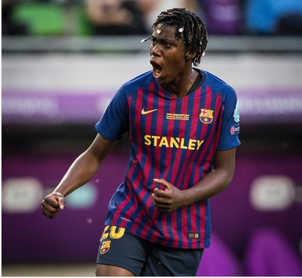 Asisat Oshoala tipped to leave Barcelona in the summer transfer window with Manchester United interested in buying her