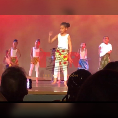 Adorable video of Blue Ivy doing traditional African dance