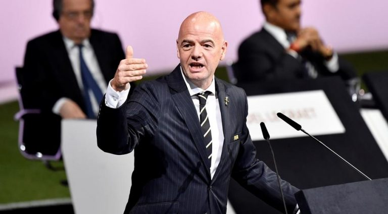 Infantino says would welcome China bid for 2030 World Cup