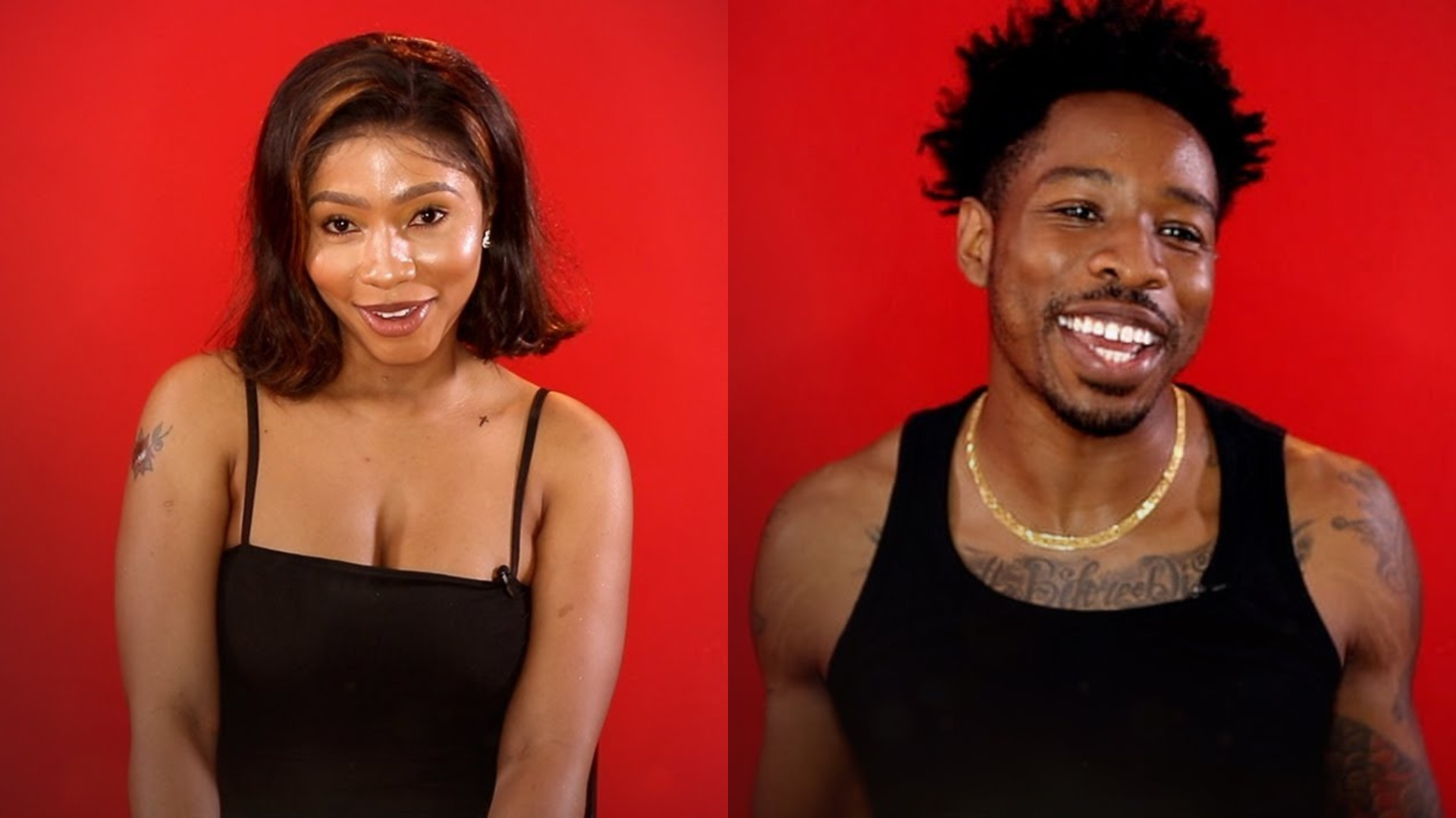 Image result for pictures of BBNaija Mercy and Ike