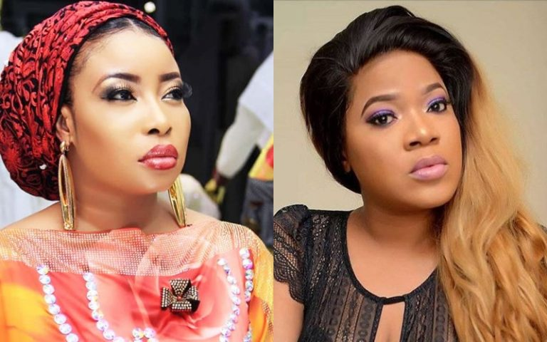 """""""She called my child an imbecile"""" – Lizzy Anjorin reignites feud with Toyin Abraham"""