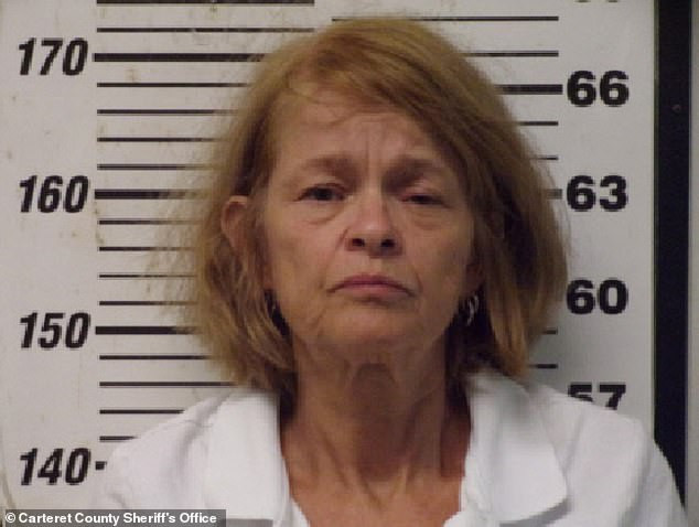 Woman, 56, is arrested for 'tying up her husband, 61, and cutting off his penis'