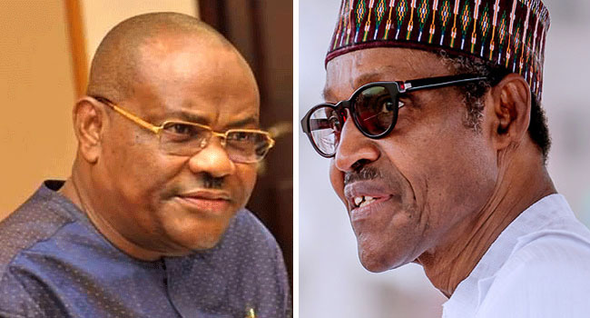 Withdraw Onochie's nomination to avoid credibility problems for INEC ~ Gov. Wike tells Buhari