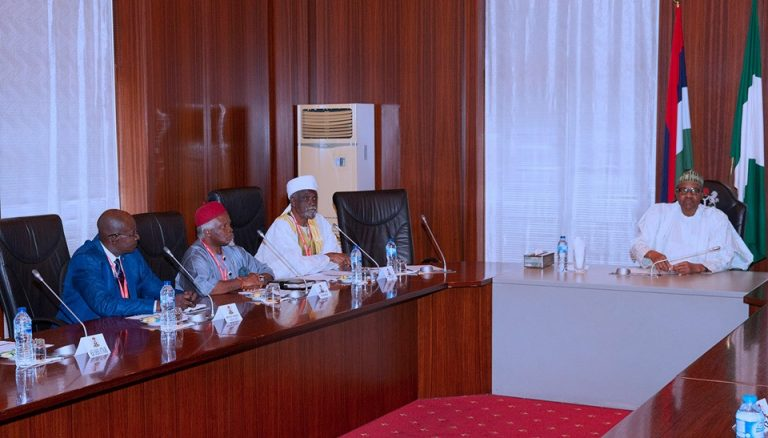 Security in Nigeria is being politicized- President Buhari
