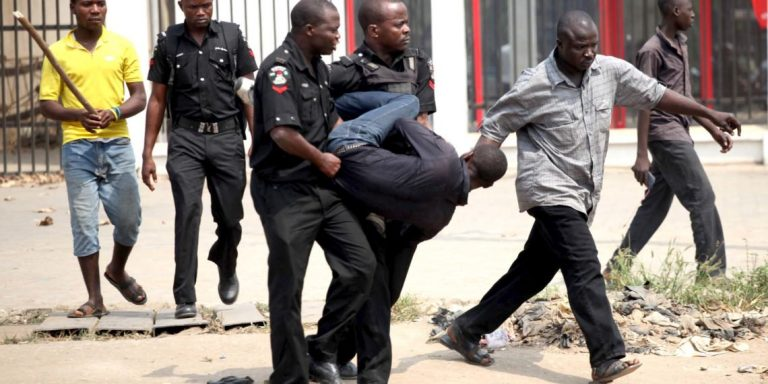 Drama As Police Manhandle Journalists At Media Event
