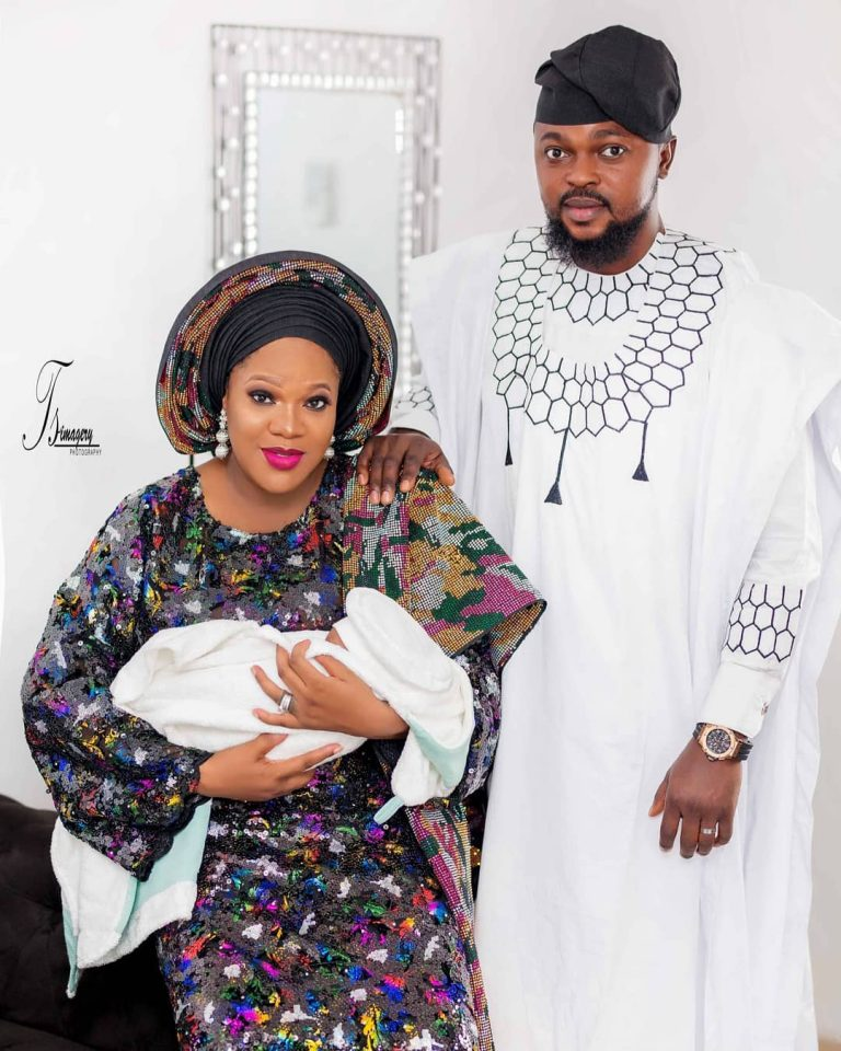 'You will laugh soon'— Actress Toyin Abraham prays for women looking for fruit of the womb