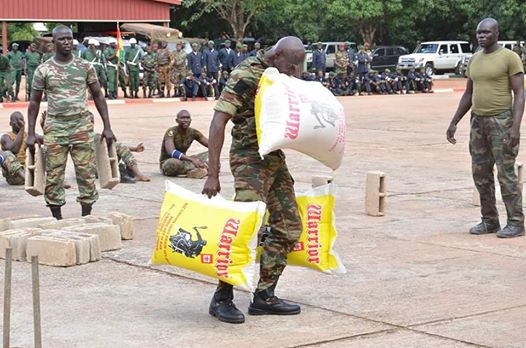 Meet the Strongest Soldier in Africa