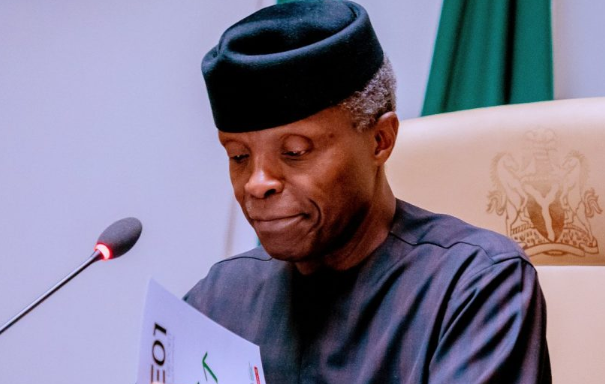 Focus on health, education, women empowerment and youth interventions – Osinbajo