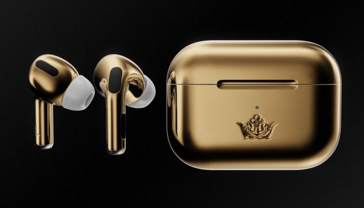 """AirPods Pro covered in 18-karat gold will """"only"""" cost you $67,000"""