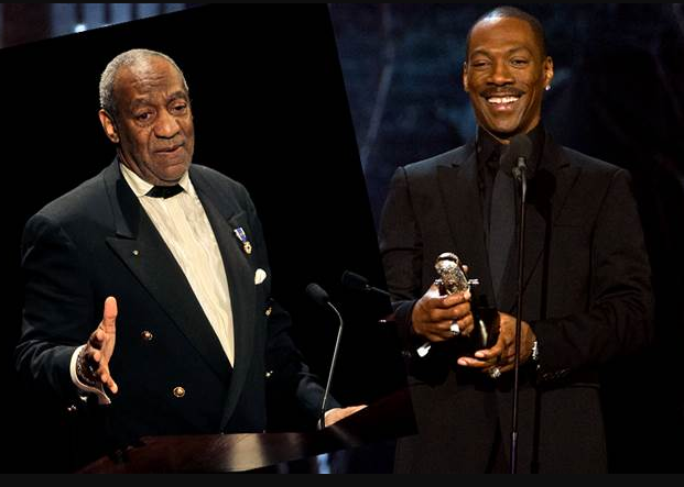 Bill Cosby's spokesman calls Eddie Murphy a 'Hollywood slave' for attacking the jailed star at 'Saturday Night Live'