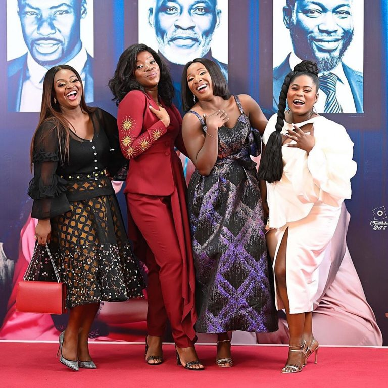 A perfect picture of Jackie Appiah, Lydia Forson, Naa Ashorkor and Shirley- Pop a gander!