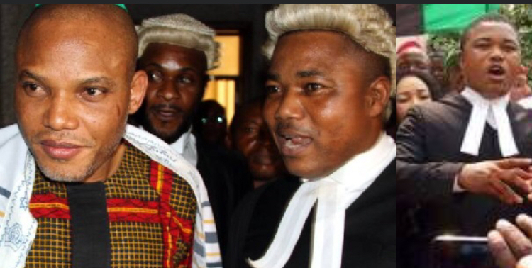 'He requires advanced medical care' – Nnamdi Kanu's lawyer, Barr. Ejiofor reveals after visiting him in DSS custody