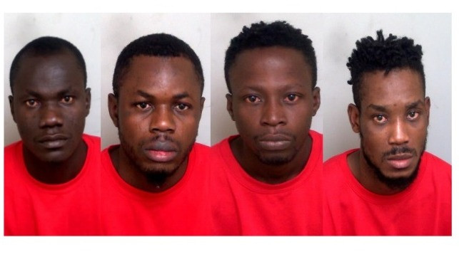 Four Nigerian stowaways jailed in UK for hurling faeces at sailors and vowing to infect them with HIV