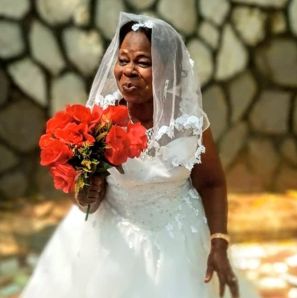 60-year-old woman weds for the first time in Anambra state (photos)