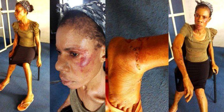 DPO Beats, Strips Sisters Naked, Arrests Mother In Delta