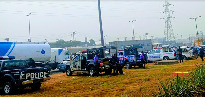 Armed Police storm Amotekun rally in Lagos state