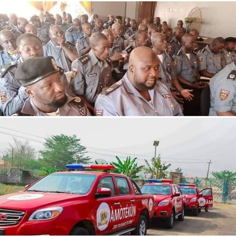 Here Are 4 Differences Between Amotekun And Hisbah Police