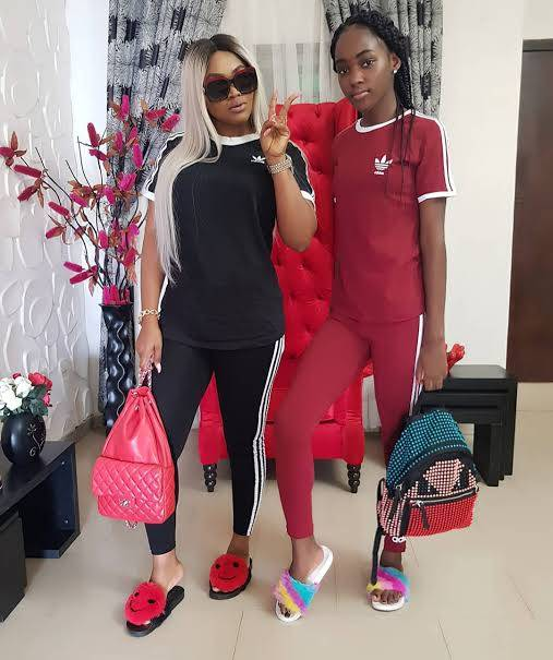 Michelle Aigbe Shares Mercy Aigbe Pictures On Instagram