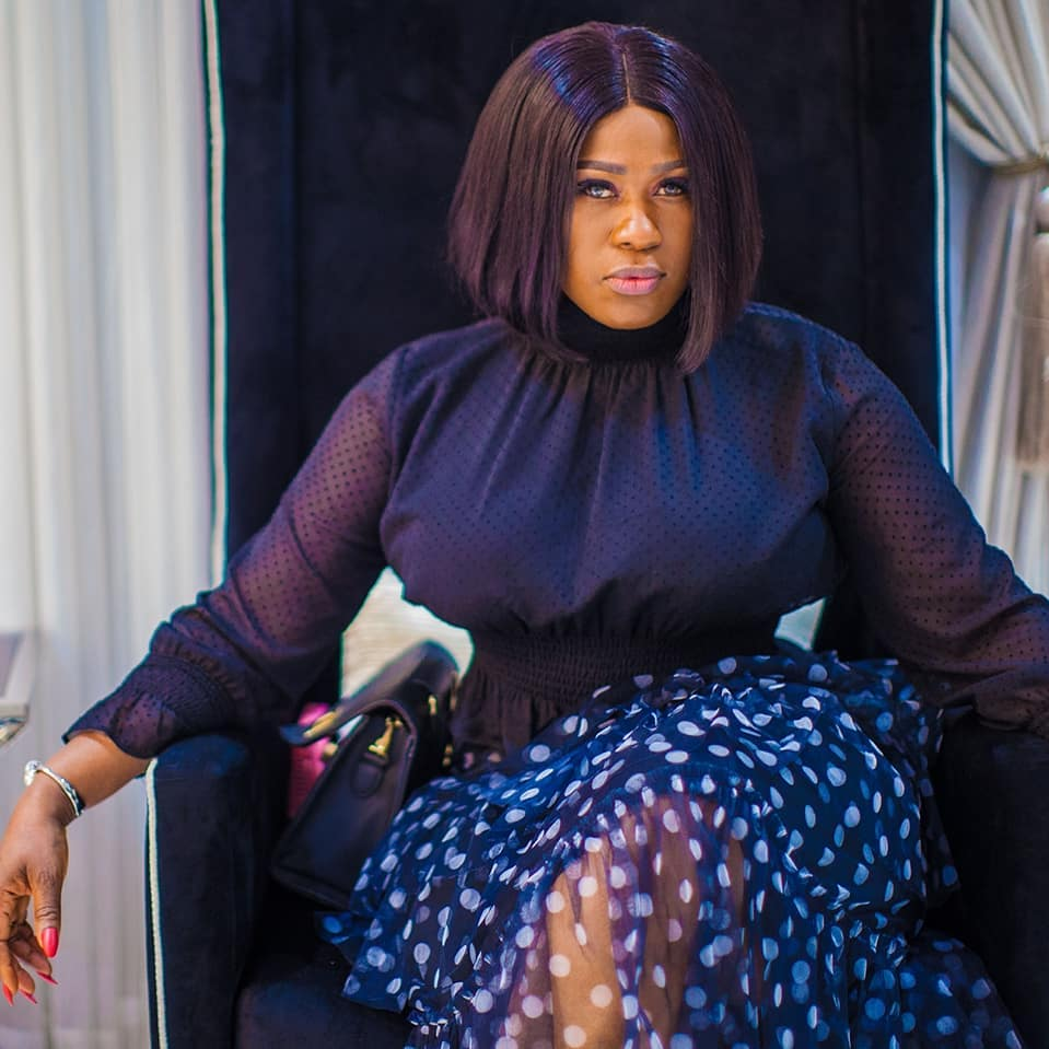 Actress, Uche Jombo Reveals Why She Removed Her Husbands