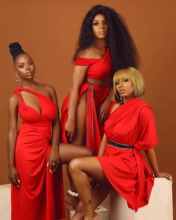 Mercy Lamborghini, Venita and Diane appear lovely in a photoshoot