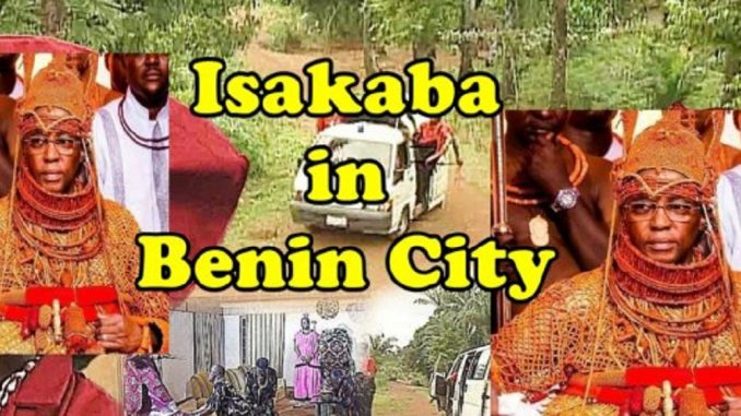 Oba deploys 'Isakaba' in Benin City to curb cult clashes