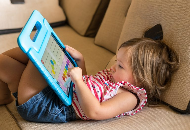 New stats show that the biggest users of Ipads and tablets are 2 and 3 years old toddlers