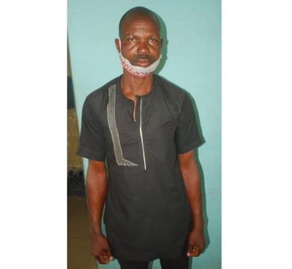 Father arrested for allegedly defiling his 2 daughters