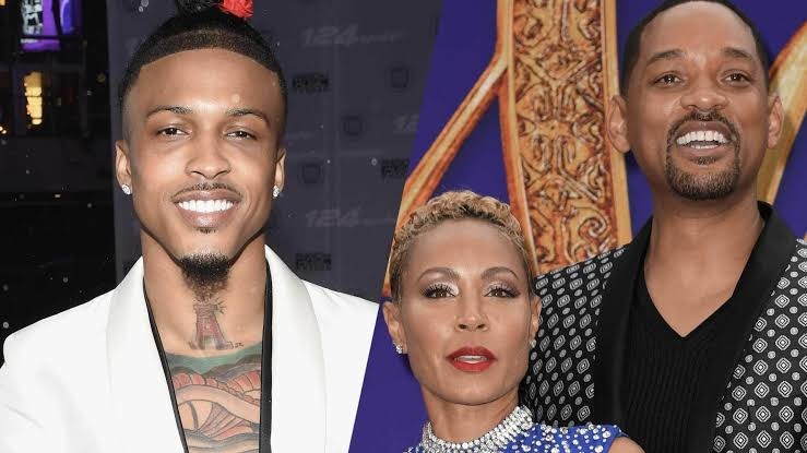 August Alsina confirms relationship with Jada Pinkett, got blessings from Will Smith