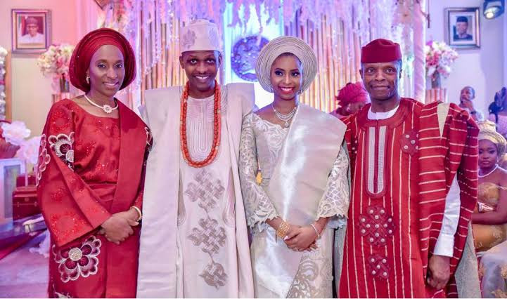 Its a boy! Vice President Yemi Osinbajo and wife welcome their first grandchild