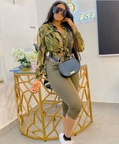 Don't let money be the reason why you are not happy, it can only solve your problem – Actress Eriata Ese