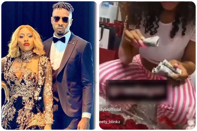 Ike gifts his lover Mercy, almost N4 million cash on her birthday | Video