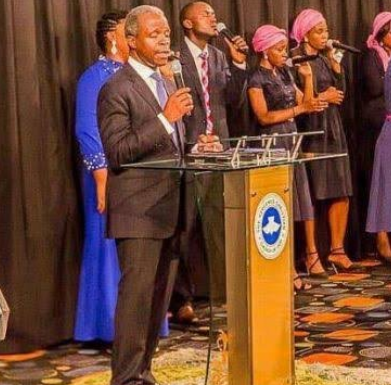 Until Pastor Yemi Osinbajo is suspended, I am never stepping foot into any Redeem Christian Church of God – Nigerian man says