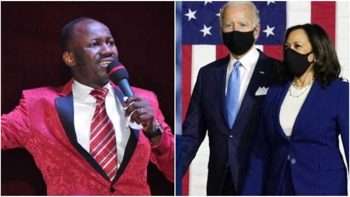 Apostle Johnson Suleman reveals Joe Biden will be impeached; Everything the prophet has to say about the US Election