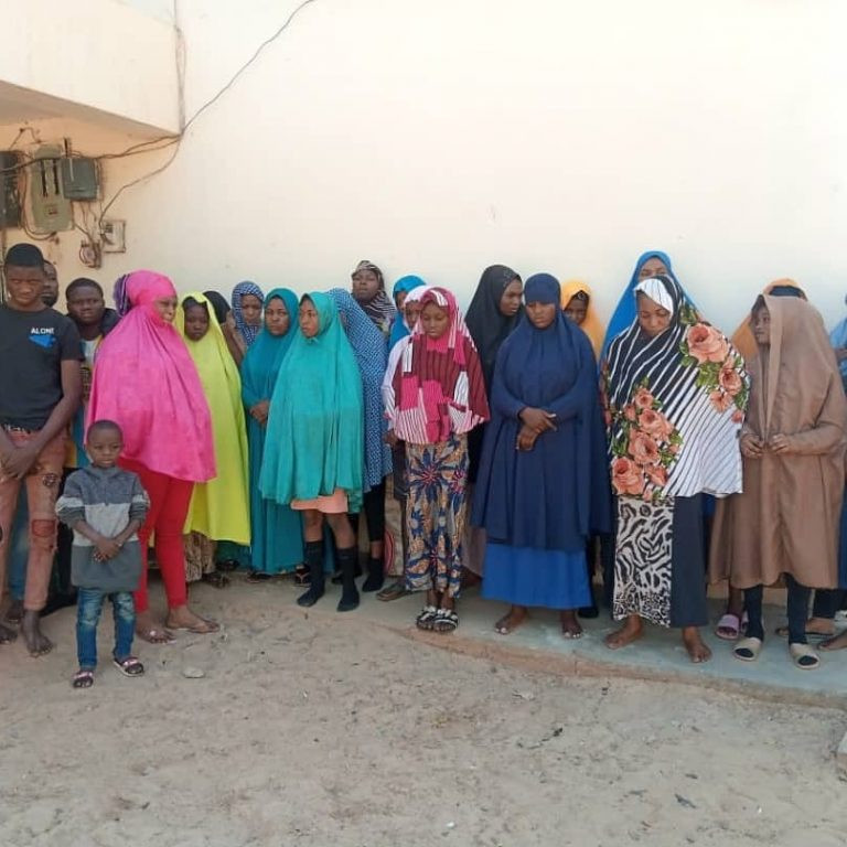 Police rescue 29 victims of human trafficking from Southern part of Nigeria enroute Libya, Turkey and Algeria