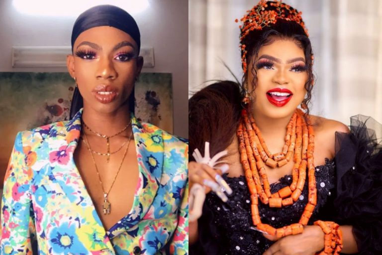 'I saw devil and ran away but people called me ungrateful' – James Brown mocks Bobrisky as his dirty secrets surface online