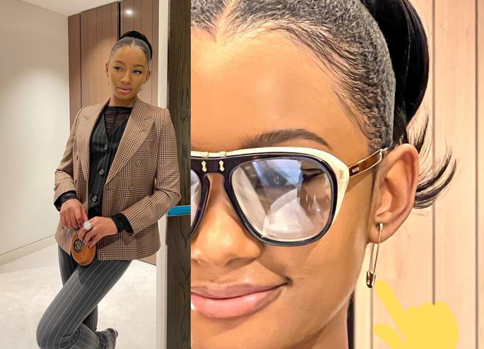 Temi Otedola rocks 'Safety Pin' earrings reportedly worth 120k naira in new photos