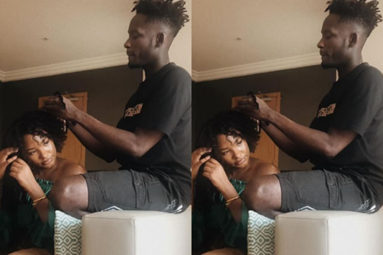"""""""You are the lady in your relationship"""" – Fan trolls Mr. Eazi as he joins stingy men association"""