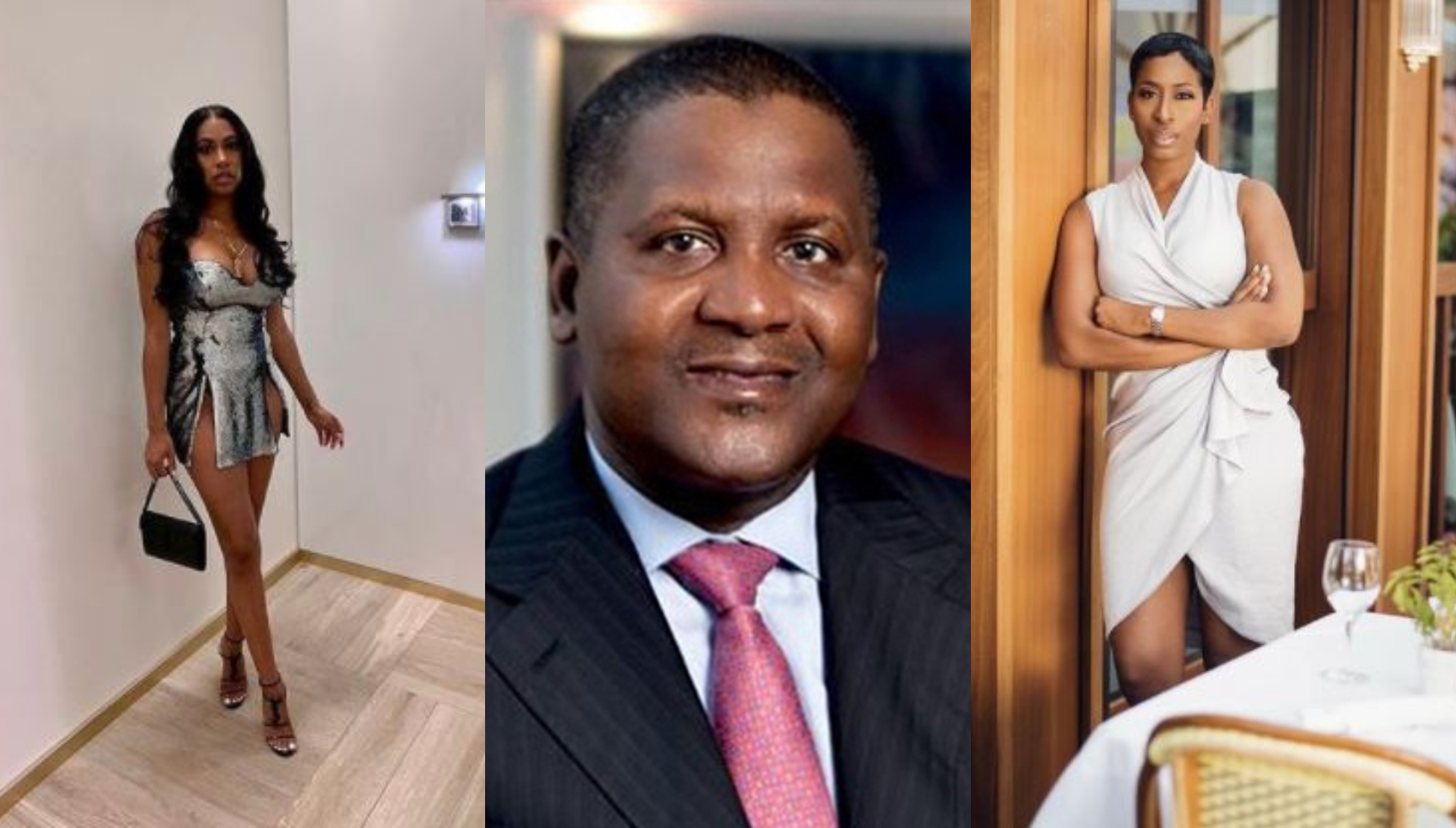 "I didn't date her"" – Dangote allegedly denies dating lady who claims, he  broke her heart – Talk of Naija"