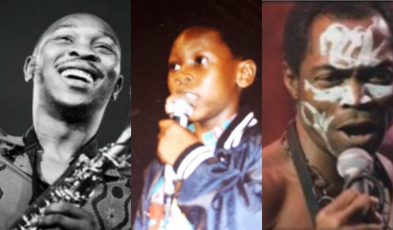 Seun Kuti shares what Fela did to him as a child when he said he wanted to be a musician