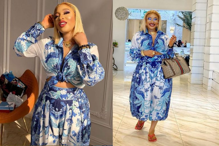 """""""Your comment is not welcome here"""" – Tonto Dikeh cautions follower who told her to """"be strong"""""""