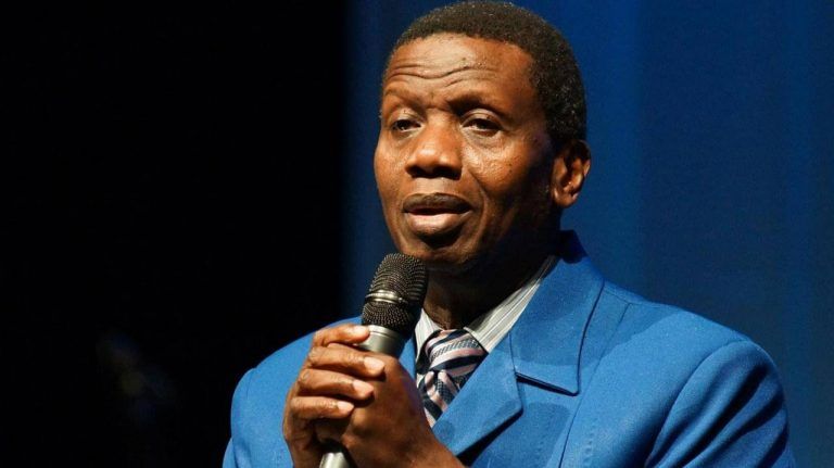 """""""We lost a general but we didn't lose God"""" – Pastor EA Adeboye says about death of his son, Dare Adeboye (WATCH)"""